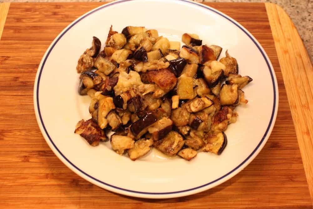 Roasted eggplant is divine