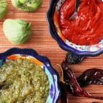 Amazing Salsas: Roja and Roasted Verde