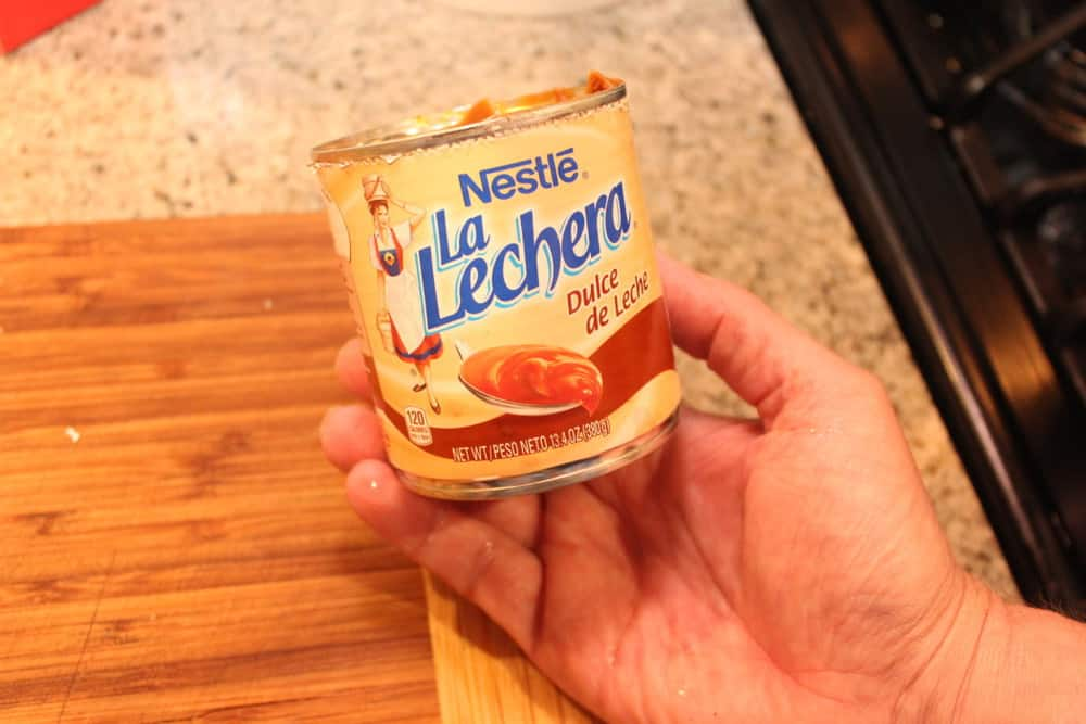 Canned Dulce de Leche is perfectly fine!