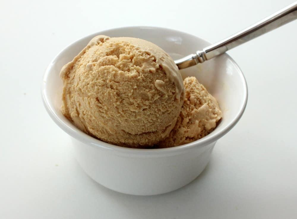 Creamy Salted Caramel Ice Cream
