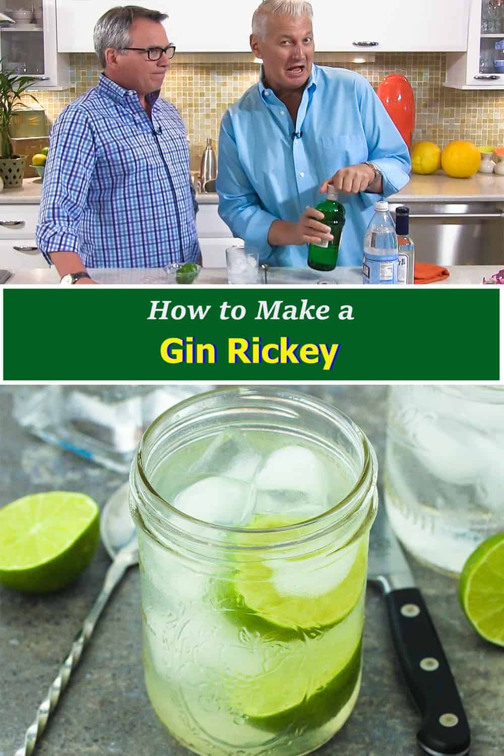 How to Make a Gin Rickey