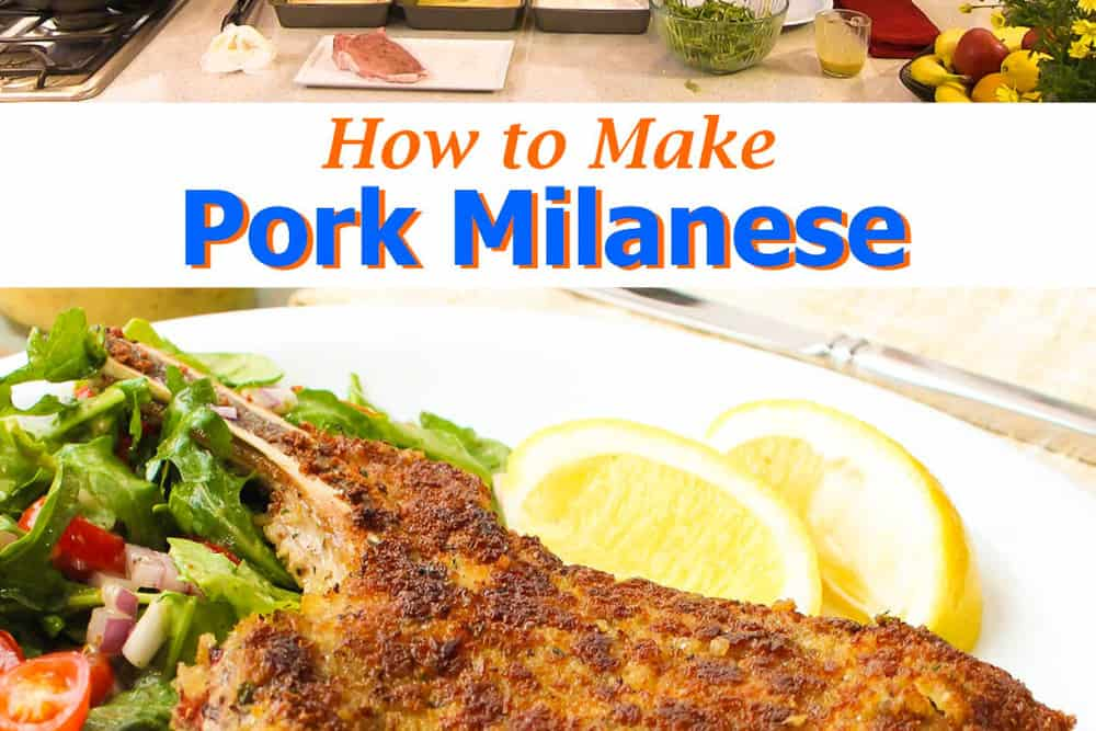 How to Make Pork Milanese