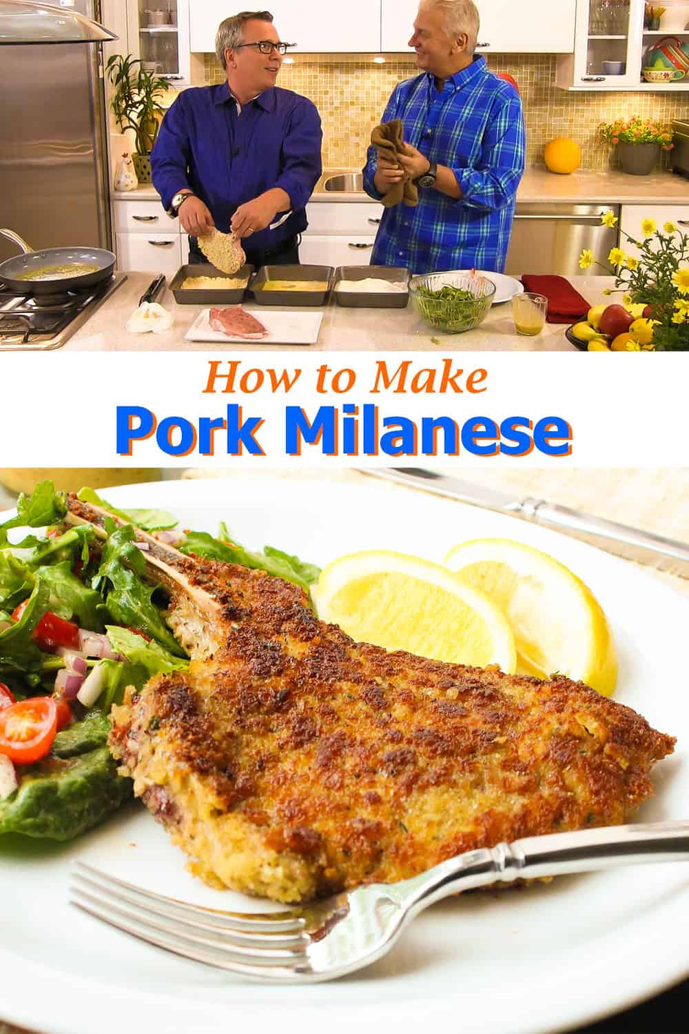 How to Make Pork Milanese