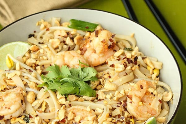 Easy Shrimp Pad Thai