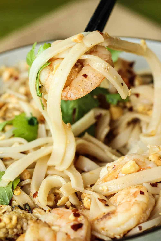 Easy Shrimp Pad Thai