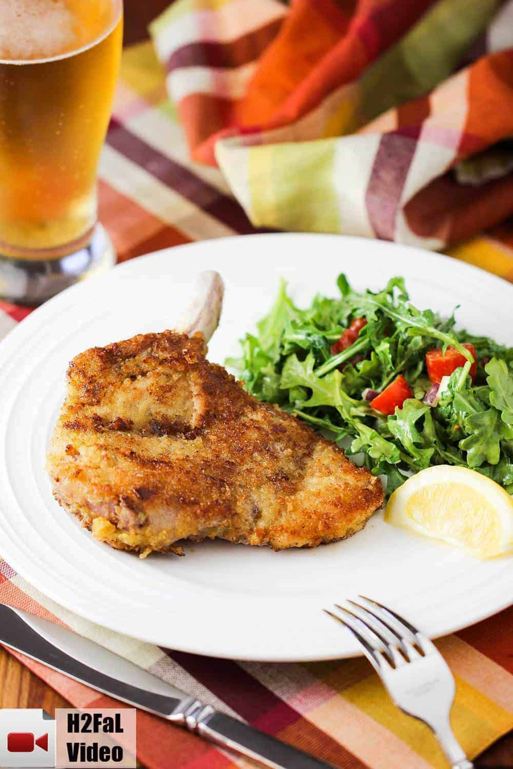 Parmesan Veal Milanese by chef Victor Laplaca - YouTube |Veal Milanese