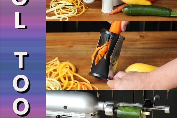 Choosing a Spiralizer