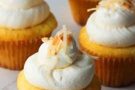 coconut-lemon curd cupcakes recipe