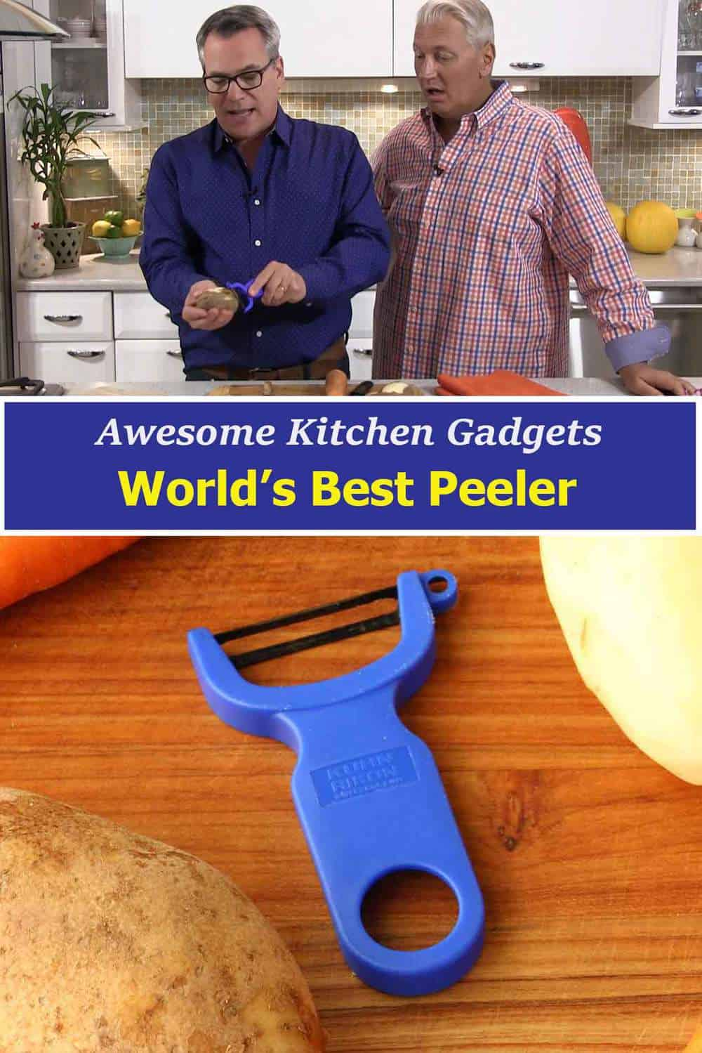 Awesome Kitchen Gadgets Veggie Peeler
