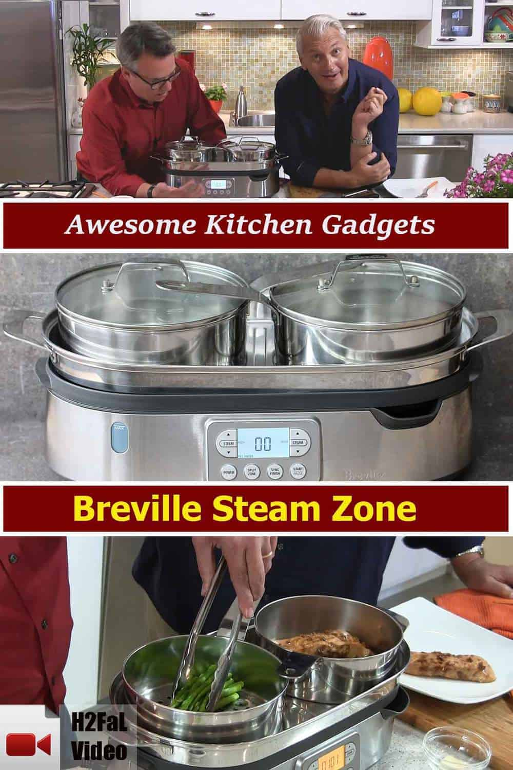 Awesome kitchen gadgets breville steam zone how to Awesome kitchen gadgets