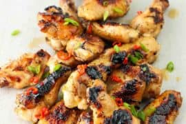 Grilled Thai Chicken Wings recipe