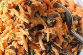 Carrot and Raisin Salad recipe