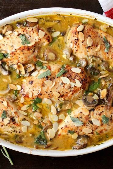 Chicken Mushroom and Sage Casserole recipe