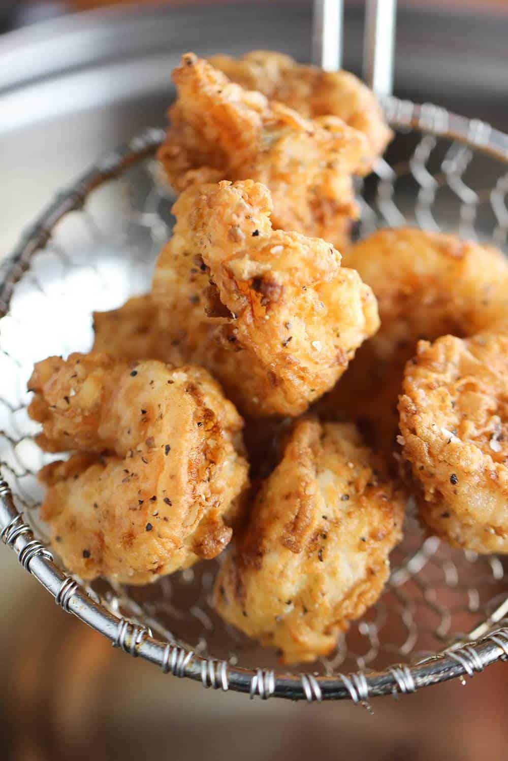 Southern Fried Shrimp recipe