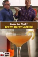 How to Make a Brown Derby Cocktail recipe