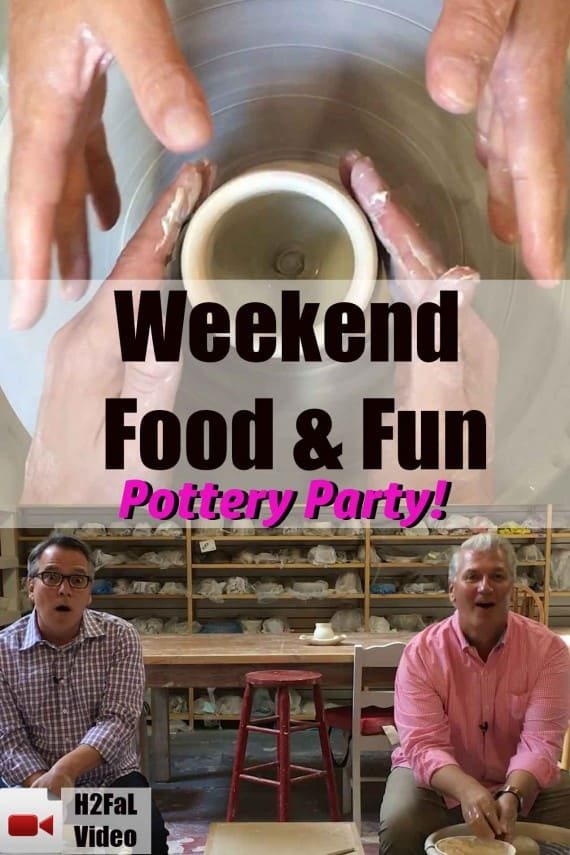 Weekend Food & Fun: Pottery Party!
