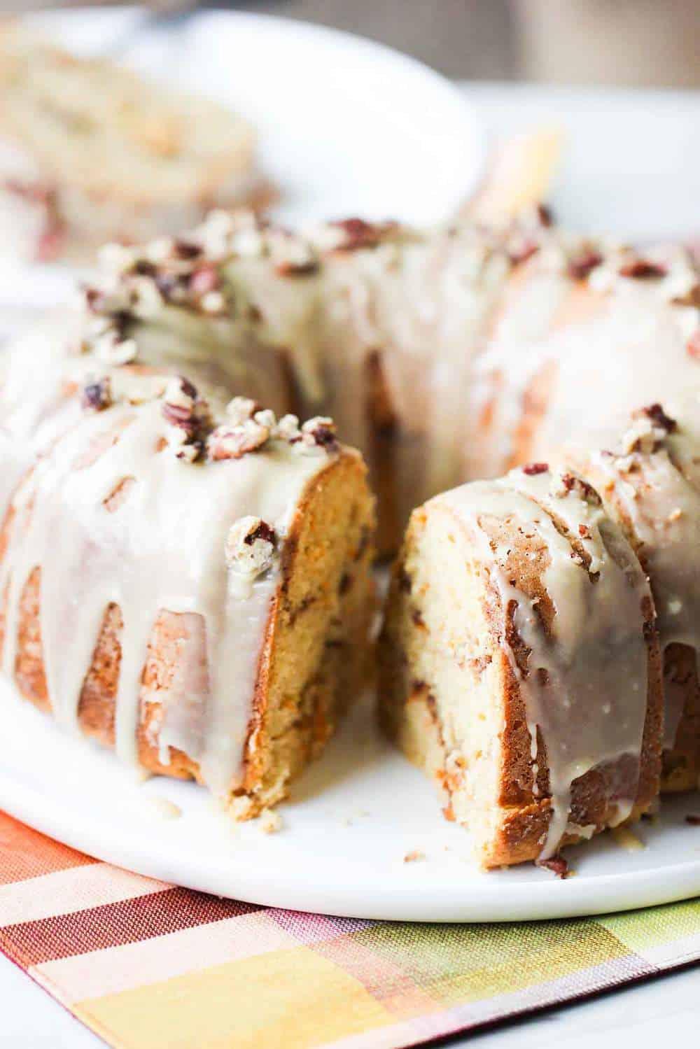 Sweet-Potato-Bundt cake recipe