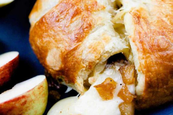 Apple, Pear & Brien en Croute recipe