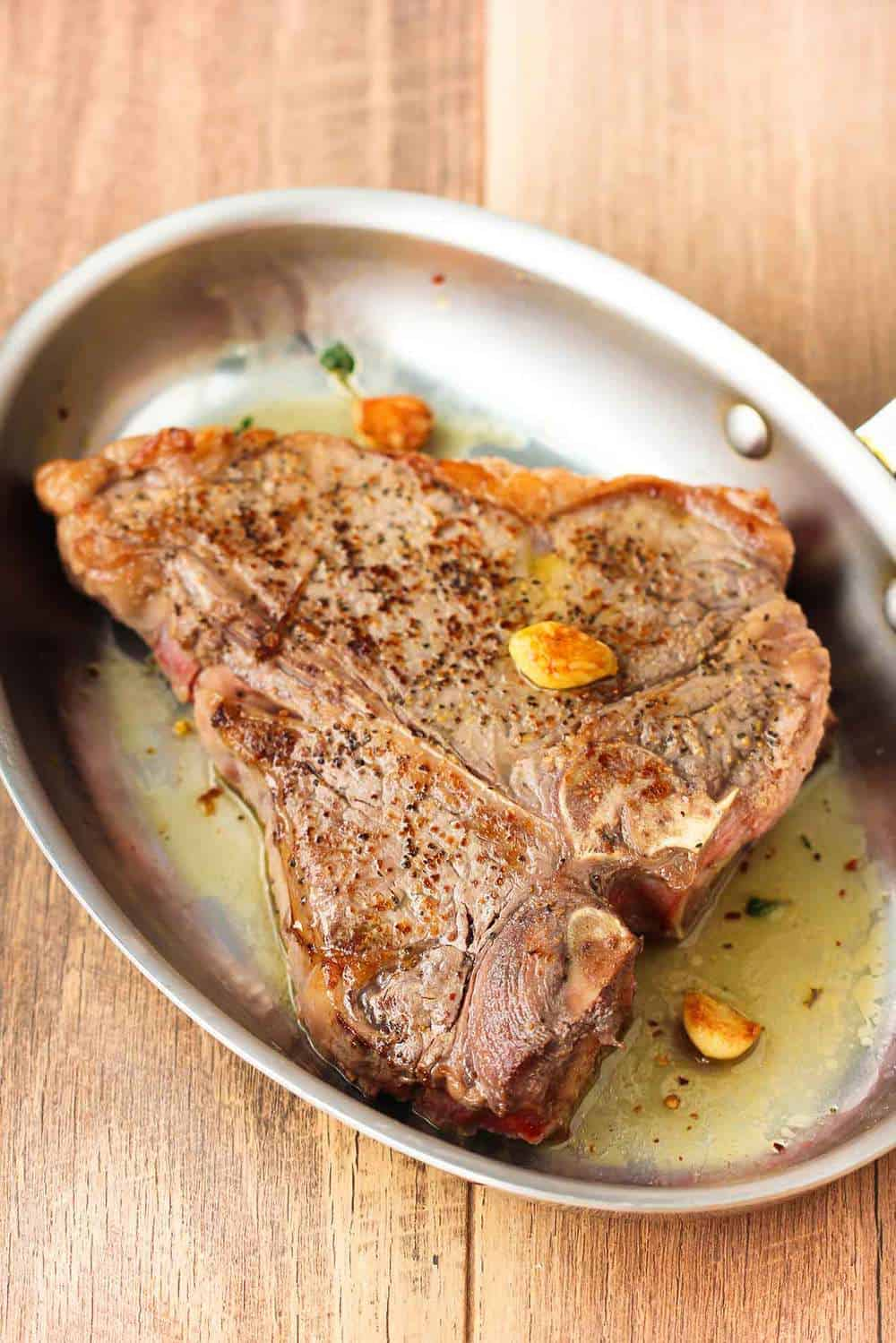 Seared Steak Pizzaiola recipe