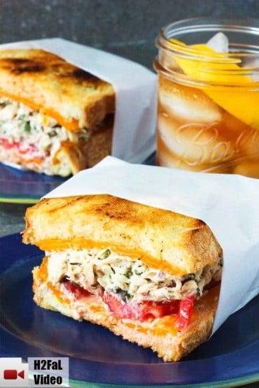 Amazing Tuna melt recipe