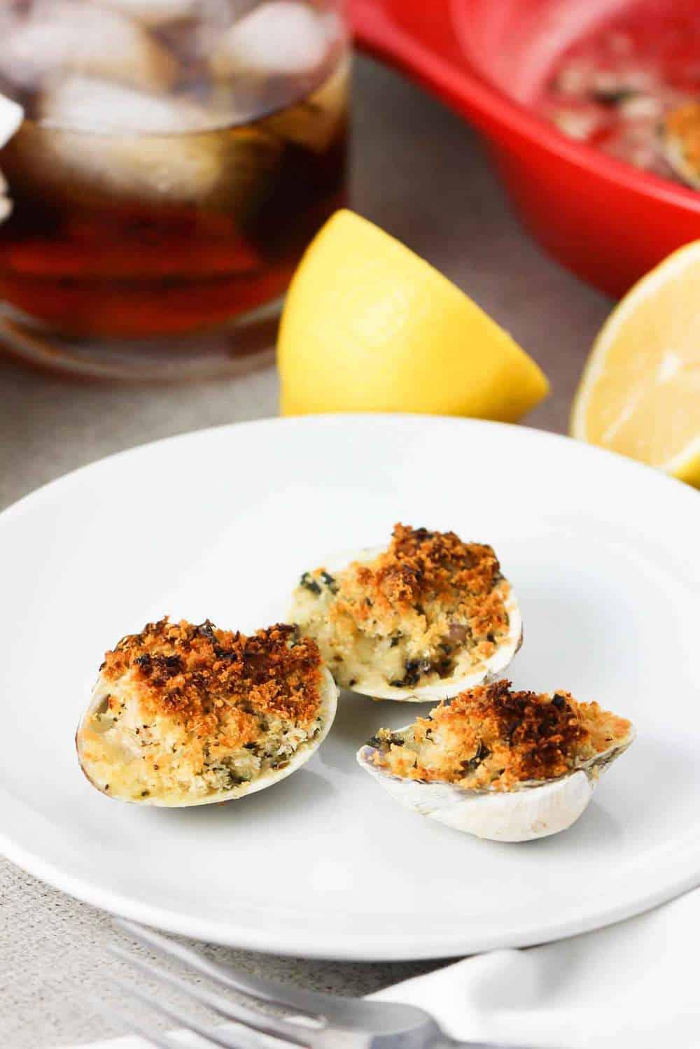 baked clams recipe