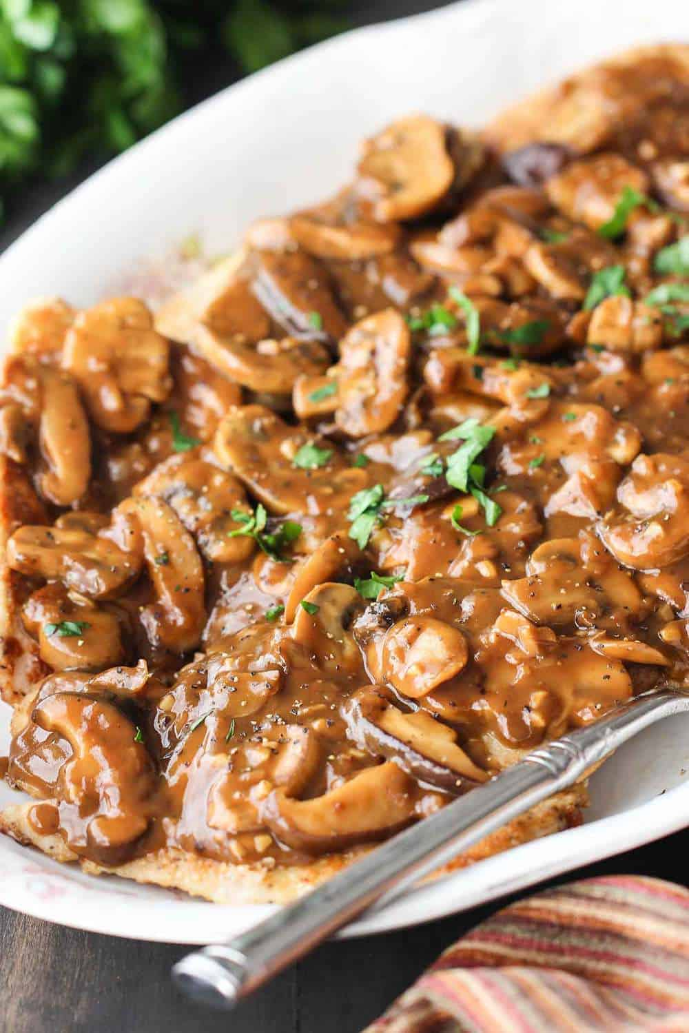 Authentic Chicken Marsala