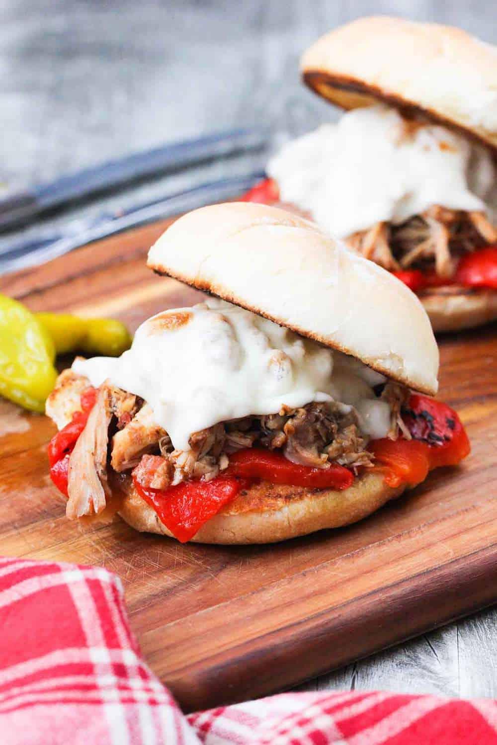 Italian-Pulled-Chicken-Sandwich-recipe