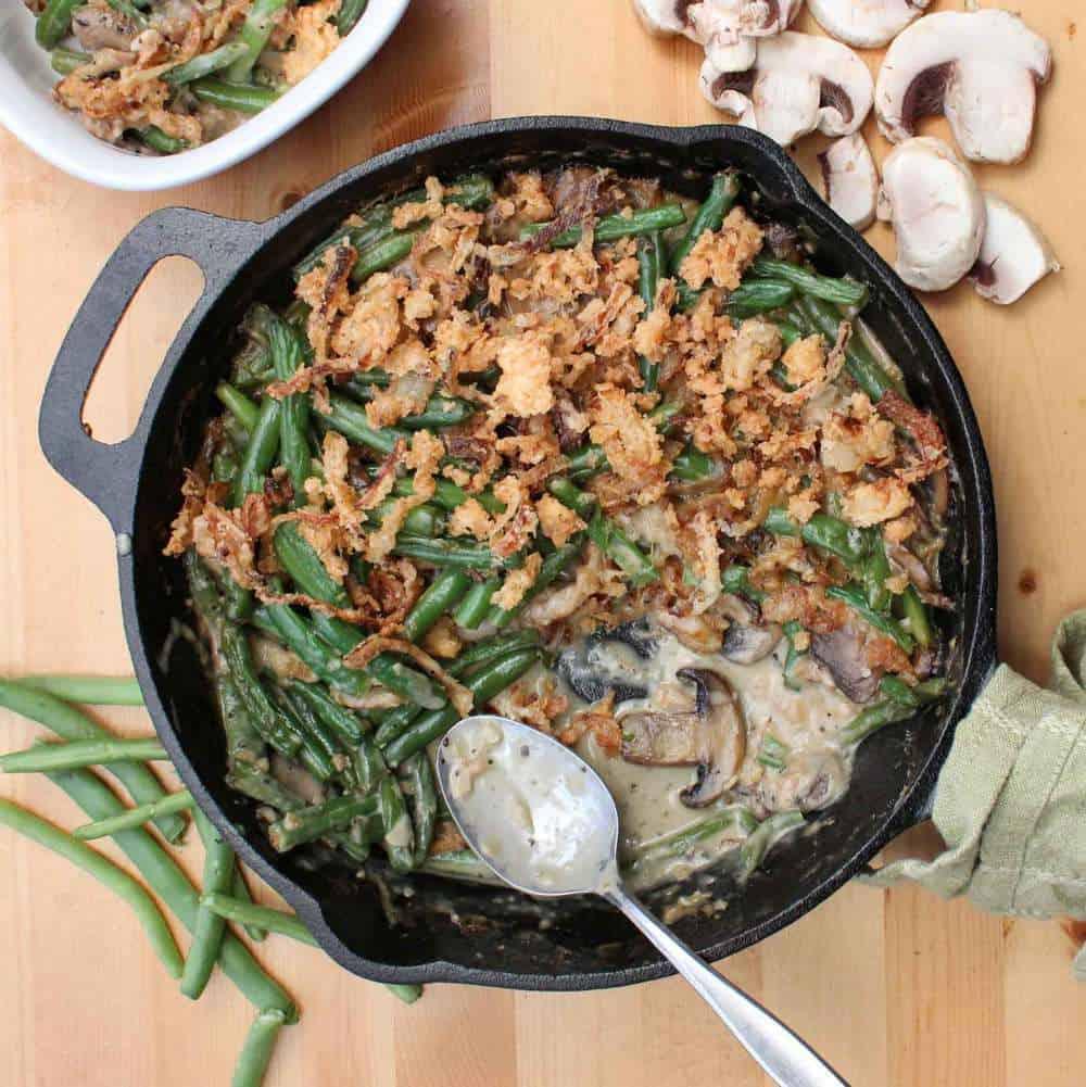 Gourmet Green Bean Casserole recipe