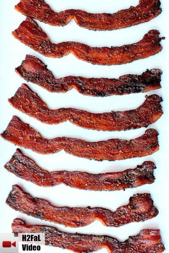 maple pepper bacon recipe