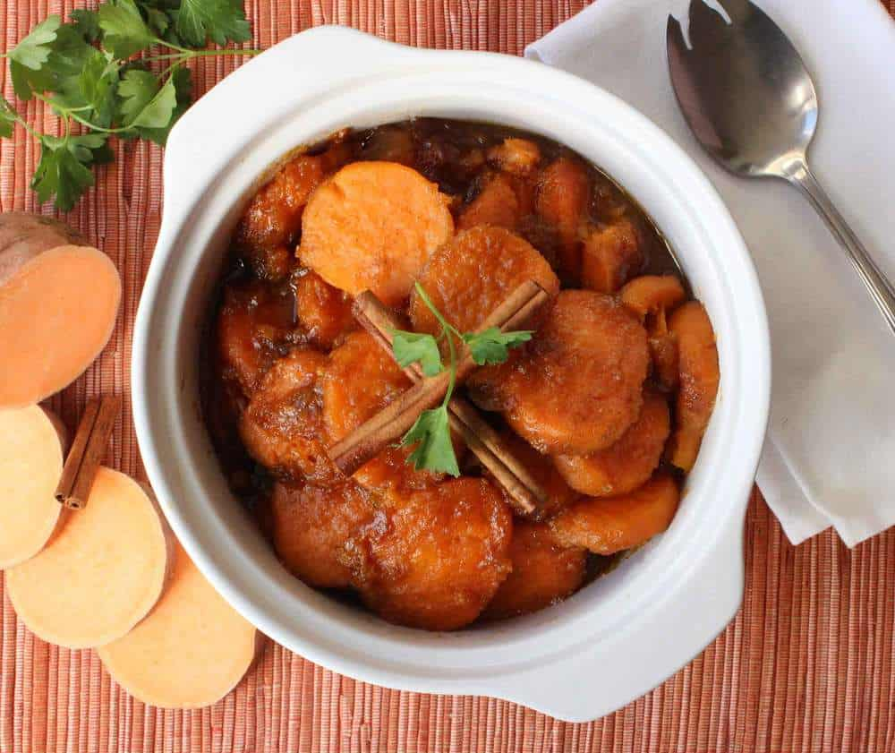 Classic Candied Yams recipe