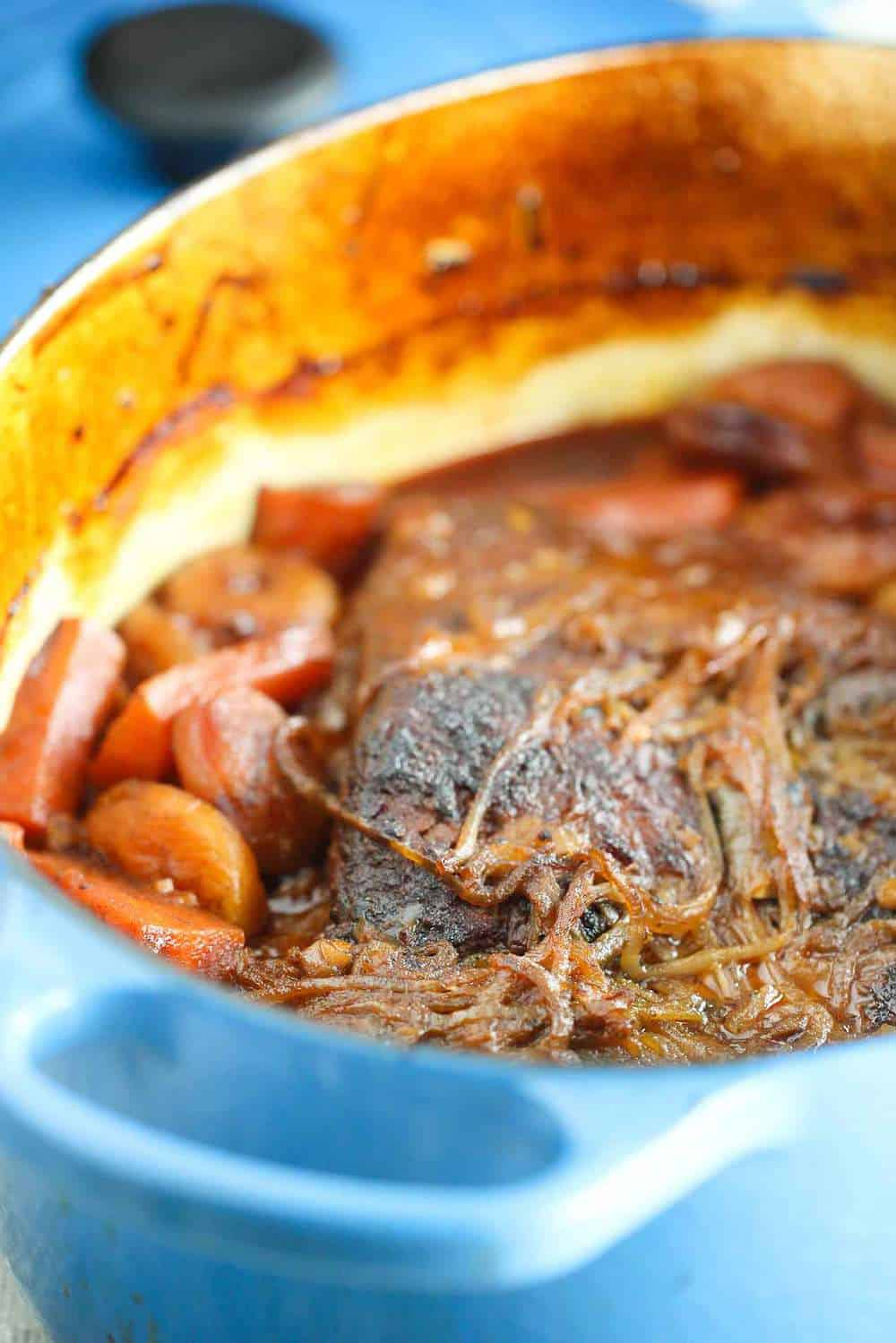 beef brisket with carrots and apricots recipe