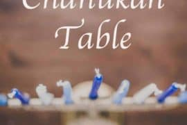 The Perfect Chanukah Table