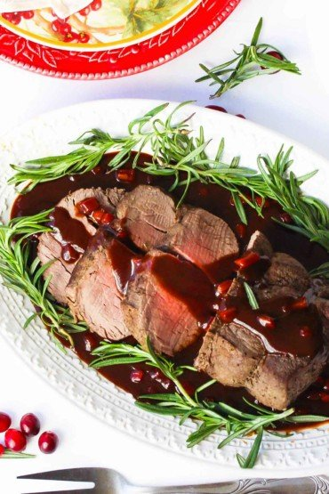 Christmas Chateaubriand recipe