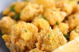 Fried Cauliflower with Lemon recipe