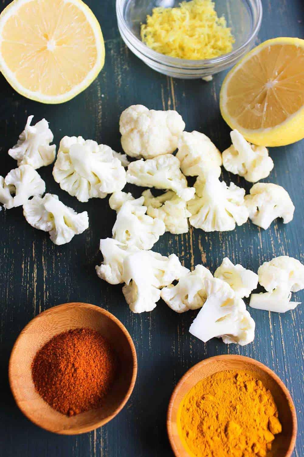 Fried Cauliflower with Lemon recipe
