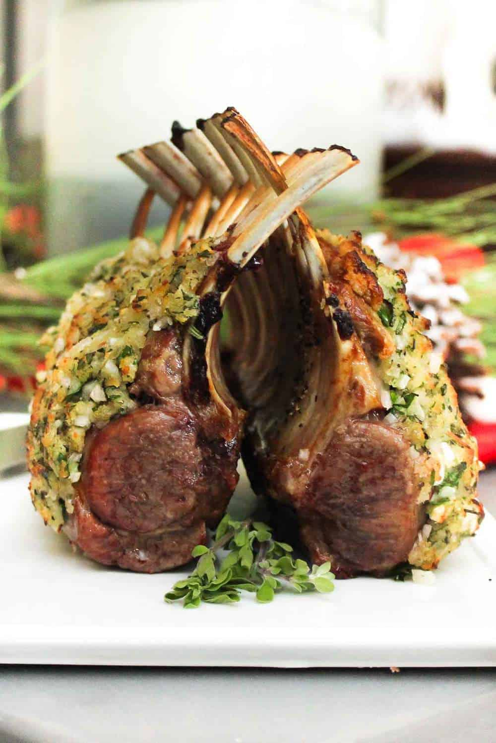 Roast rack of lamb recipe