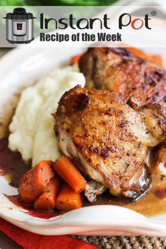 Instant pot Balsamic Chicken and Carrots recipe
