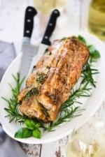herb-stuffed pork loin recipe