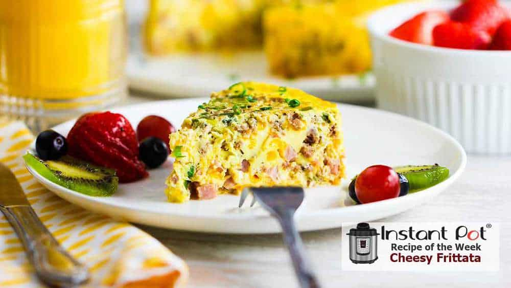 Instant Pot Cheesy Sausage And Ham Frittata How To Feed