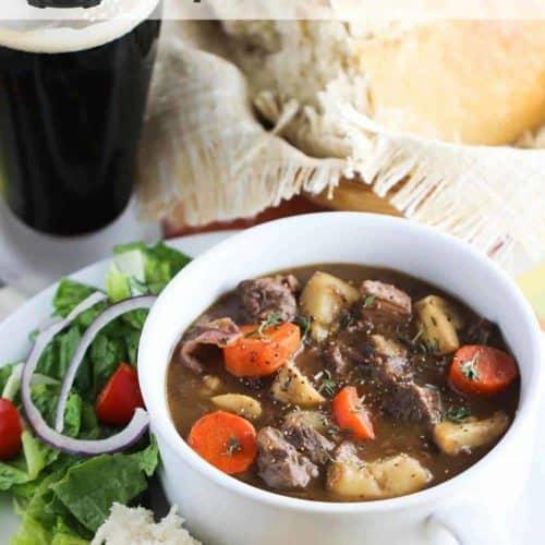 Instant Pot Irish Guinness Beef Stew recipe