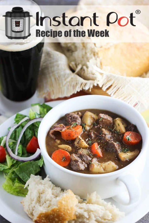 Instant Pot Irish Guinness Beef Stew recipe