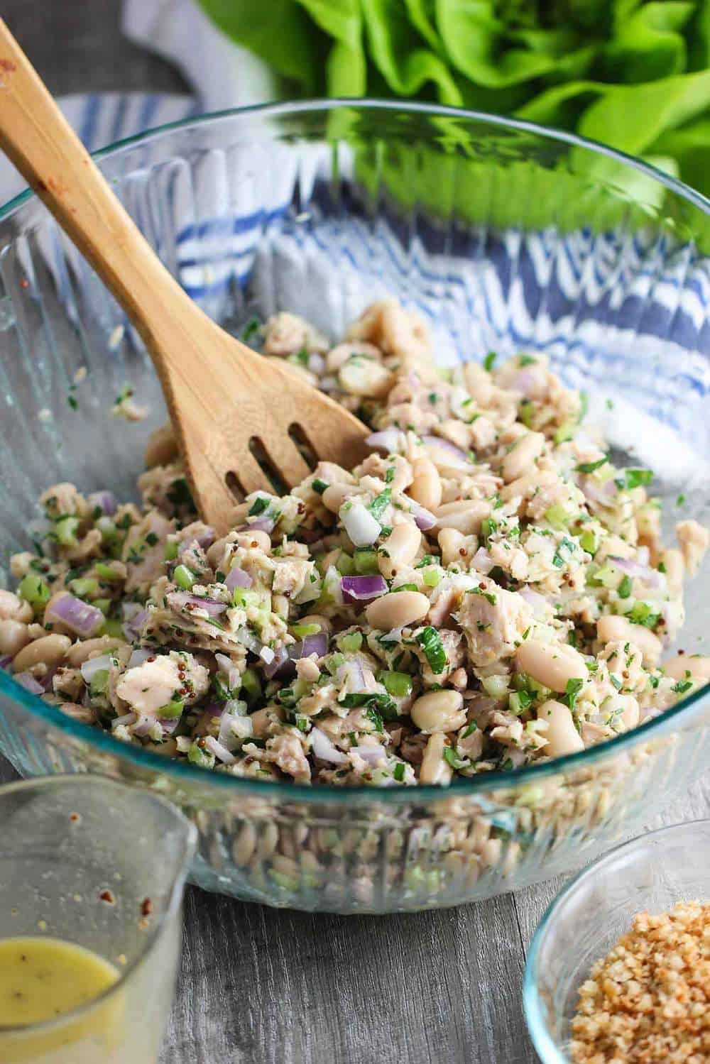Albacore Tuna and White Bean Salad recipe