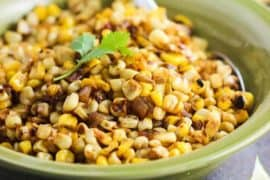 Skillet Roasted Corn salsa recipe