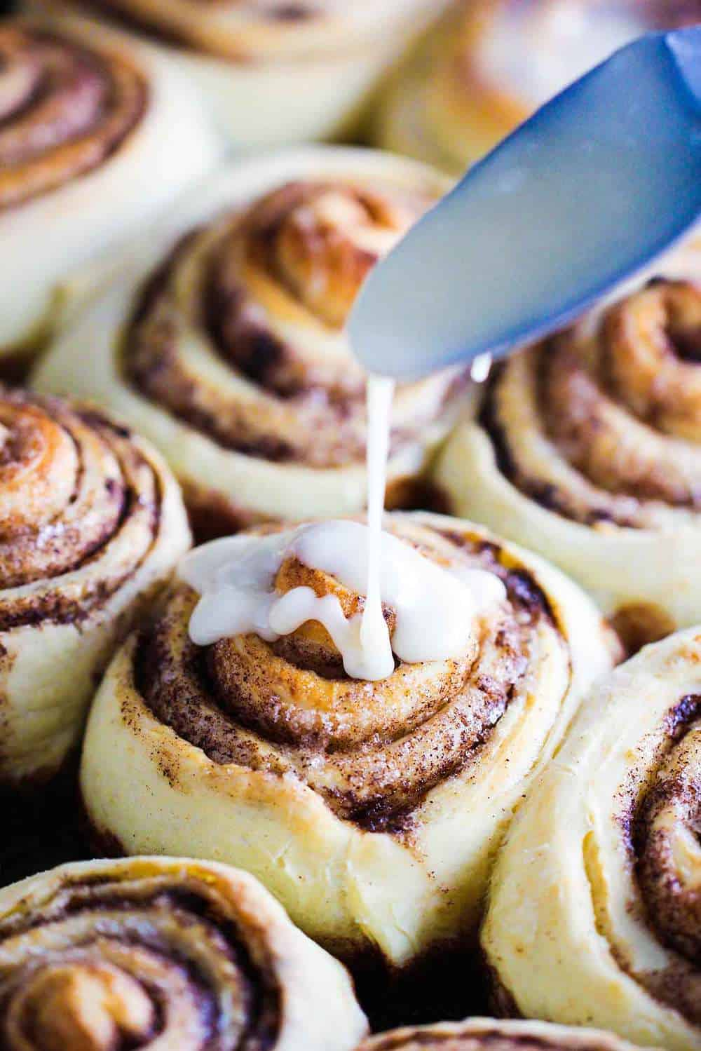 Grandma's Homemade Cinnamon Rolls recipe