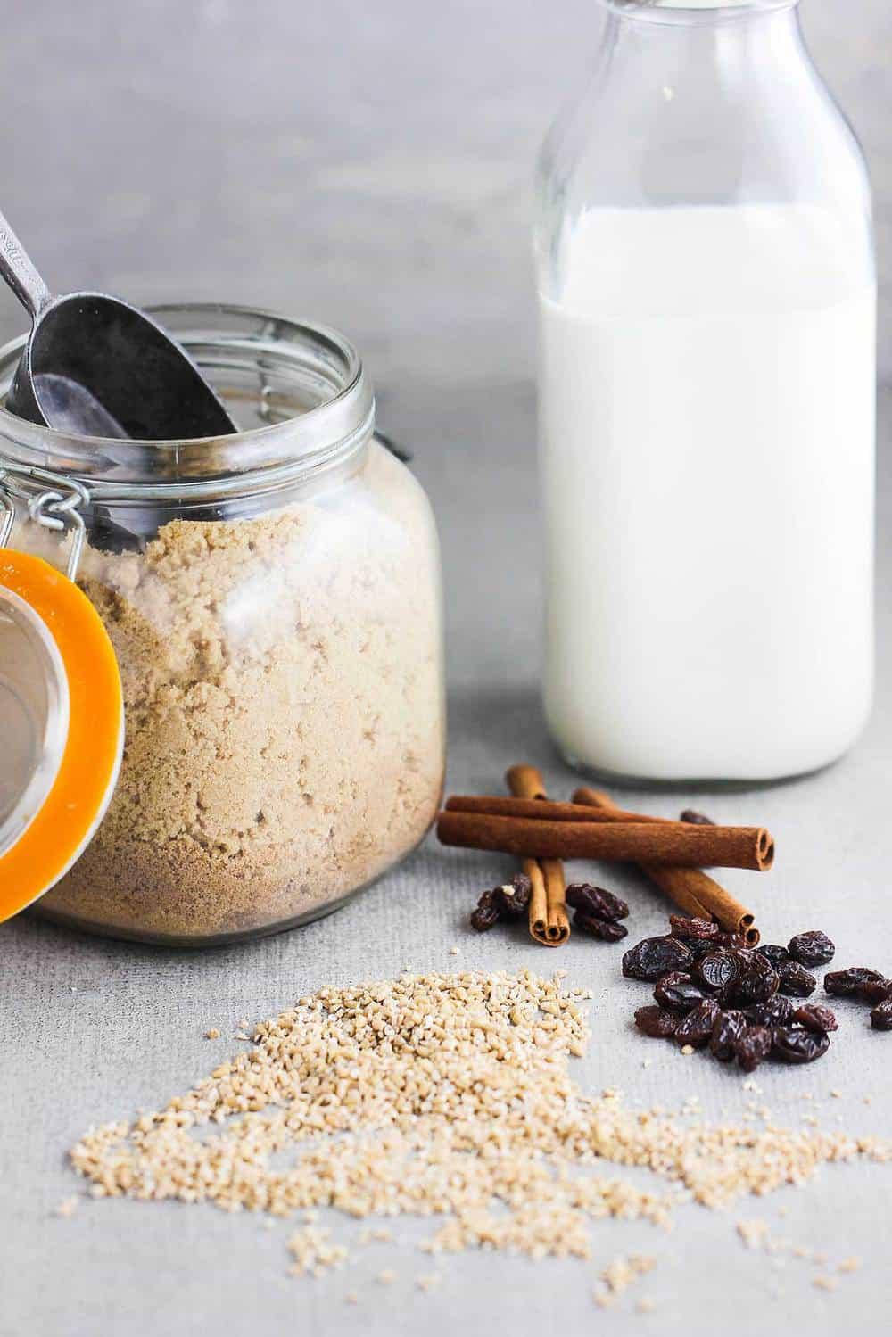 Instant Pot Cinnamon Raisin Steel-Cut Oatmeal recipe