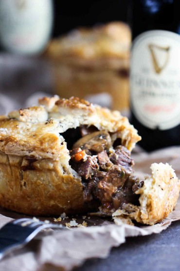 Pub-Style Guinness Beef Pie recipe