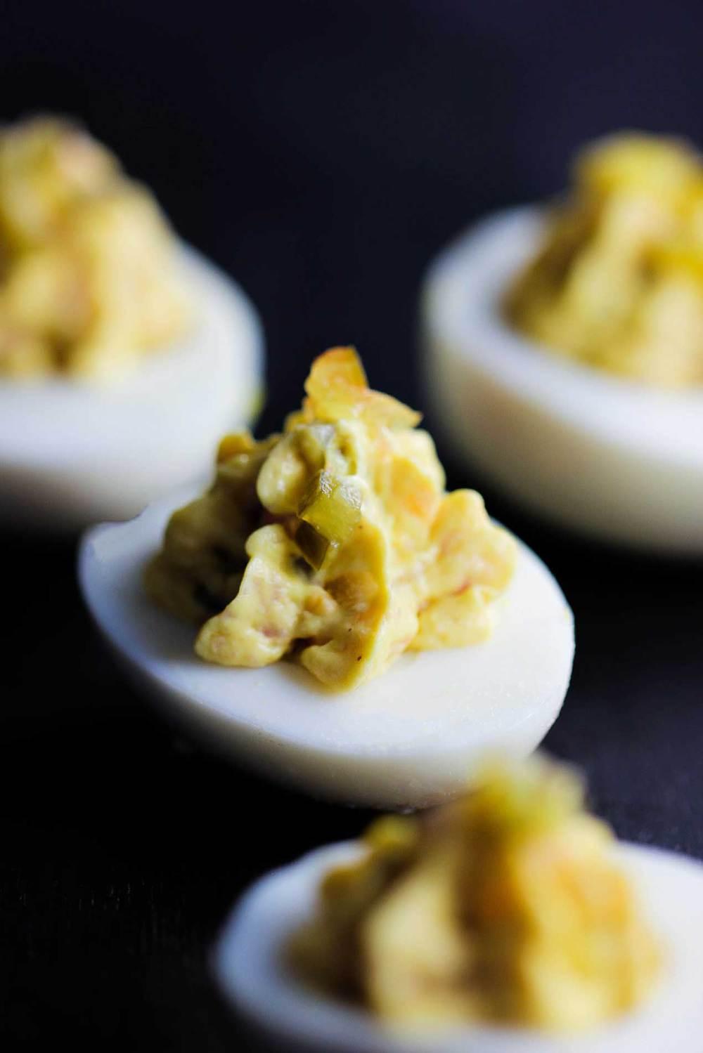 Stuffed Eggs - 3 Ways recipe