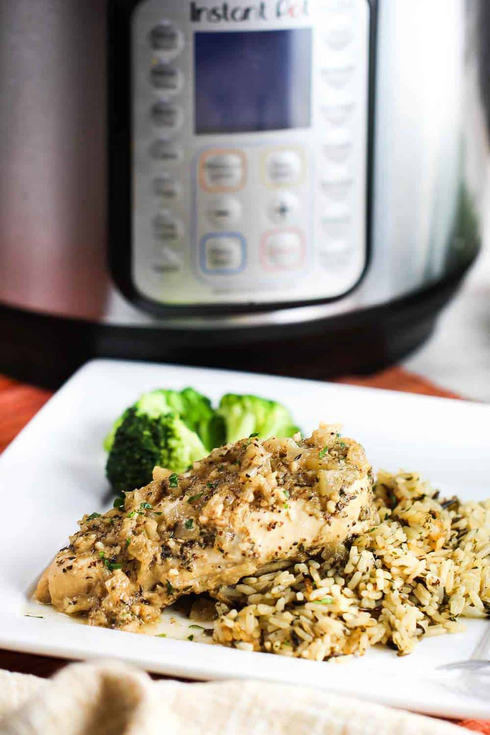 Instant Pot Dijon Chicken recipe