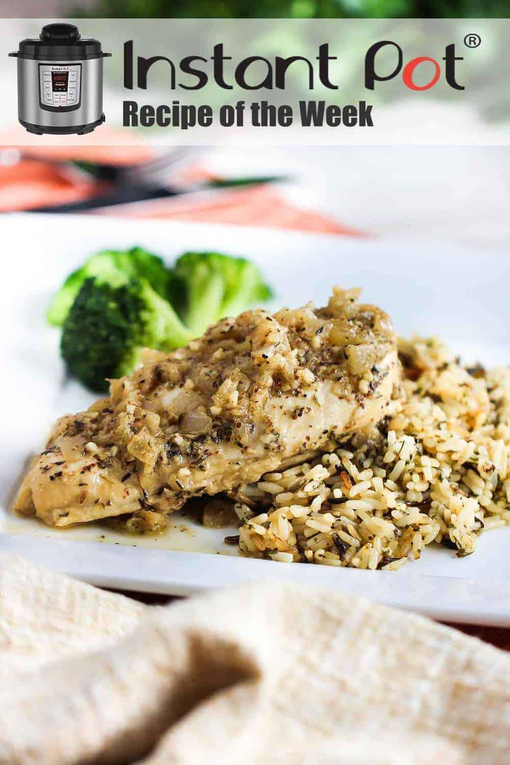 Instant Pot Dijon Chicken recipe