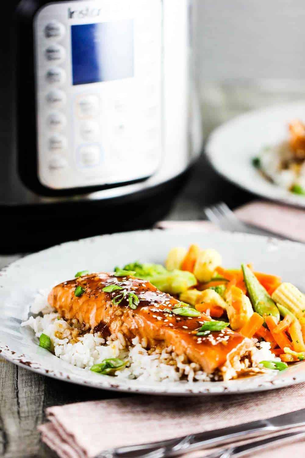 Instant Pot Teriyaki Salmon recipe